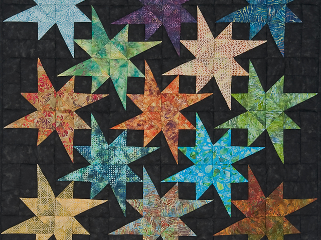 Hand Painted Star Bright Wall Hanging Photo 2