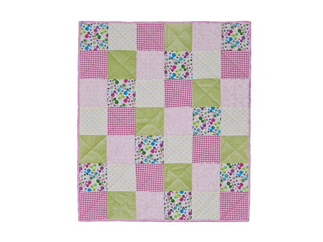 Pink Baby Chic needs a Crib Quilt Photo 1