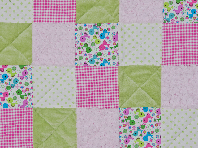 Pink Baby Chic needs a Crib Quilt Photo 2