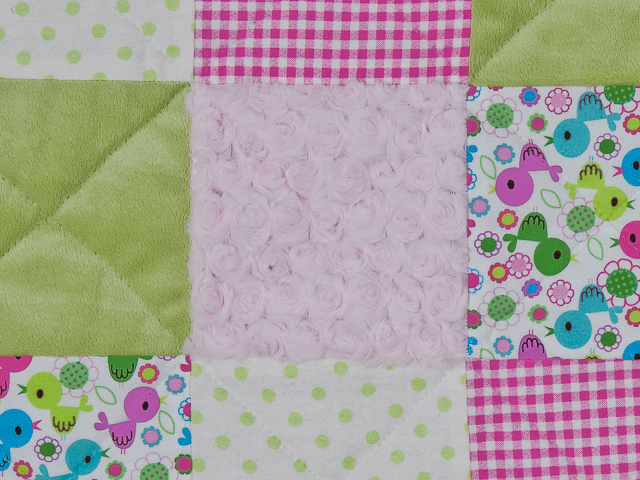Pink Baby Chic needs a Crib Quilt Photo 3