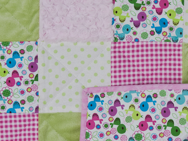 Pink Baby Chic needs a Crib Quilt Photo 4