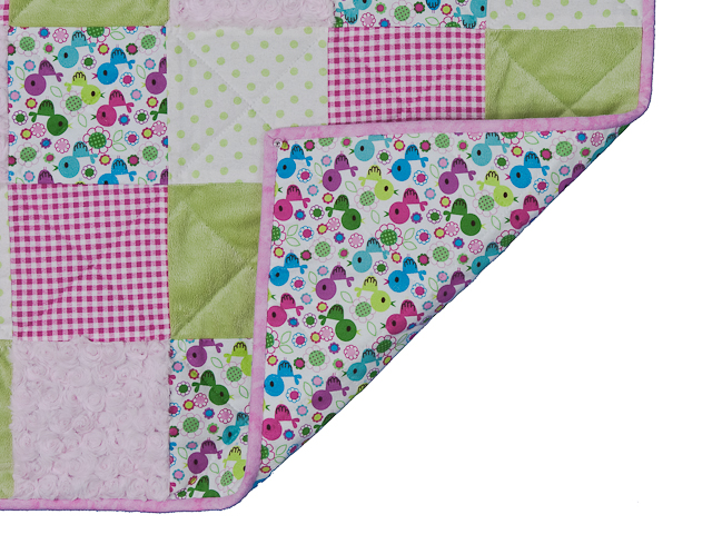 Pink Baby Chic needs a Crib Quilt Photo 6