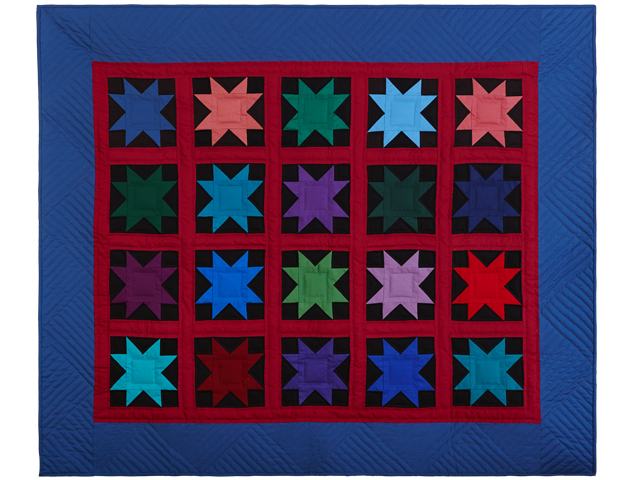 Amish Variable Star Throw Photo 1