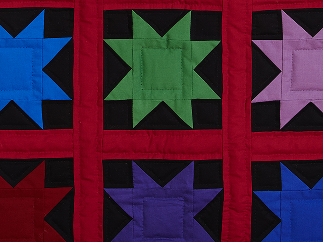 Amish Variable Star Throw Photo 4