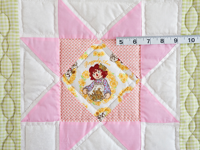 Pastel Stars Crib Quilt Photo 5