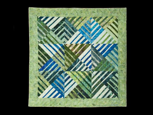 Batik Underwater World Wall Quilt Photo 1