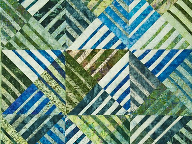 Batik Underwater World Wall Quilt Photo 2