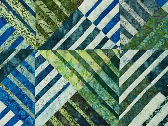 Batik Underwater World Wall Quilt Photo 4