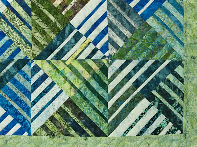 Batik Underwater World Wall Quilt Photo 5