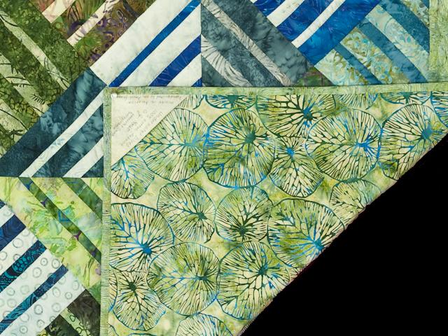 Batik Underwater World Wall Quilt Photo 6