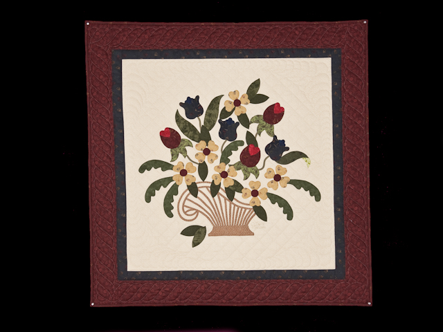 Burgundy, Navy, Green, Gold 