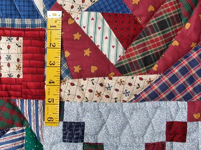 Crazy Patchwork Sampler Wall Hanging Photo 4