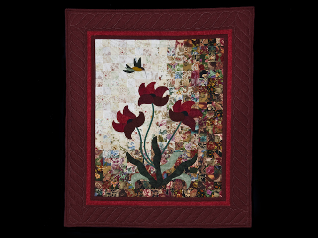 Morning Splendor Watercolor Wall Hanging