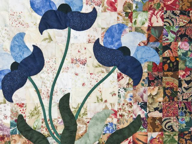 Morning Splendor Watercolor Wall Hanging Beautiful Blues Photo 6