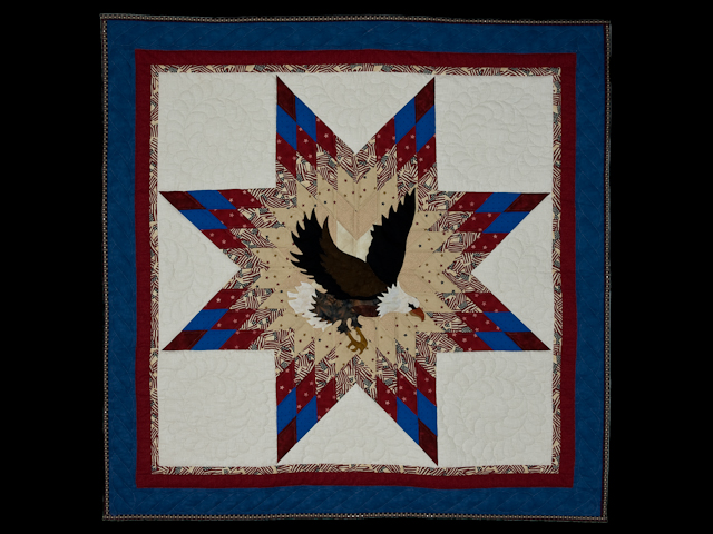 American Eagle and Lone Star Wall Hanging Patriotic USA theme Photo 1