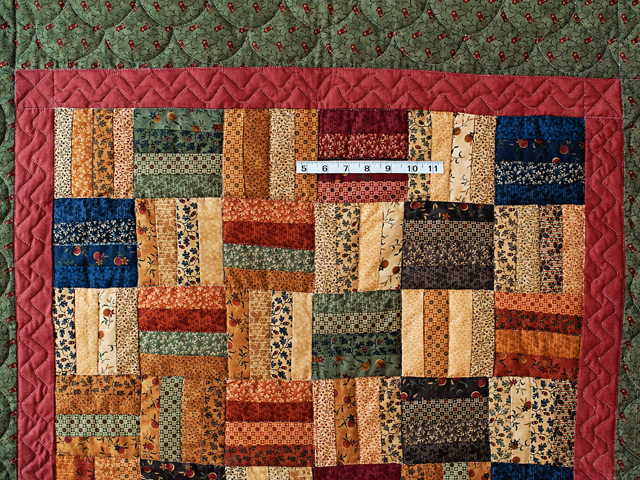 Antique Colors Fence Rail Quilt Photo 3