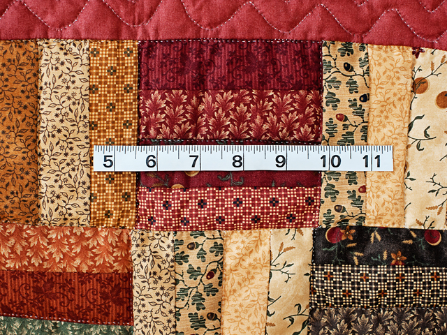Antique Colors Fence Rail Quilt Photo 4
