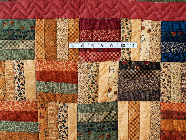 Antique Colors Fence Rail Quilt Photo 5