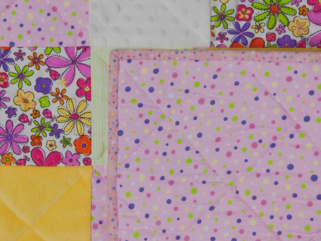 Cute Baby Girl Flower Power 