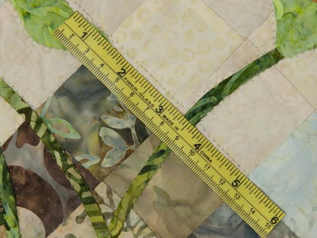 Sunflower Mountain - New Design Patchwork, Hand Applique, Hand Quilt Photo 7
