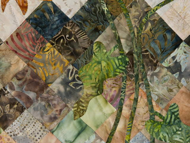 Sunflower Mountain -  Patchwork/Applique and Quilting combination Photo 4