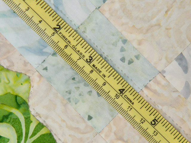 Sunflower Mountain -  Patchwork/Applique and Quilting combination Photo 8