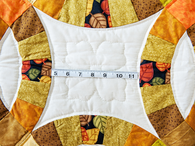 Autumn Colors Wedding Ring Quilt Photo 4