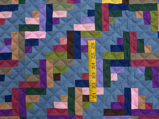 Indiana Amish Log Cabin Quilt Photo 3