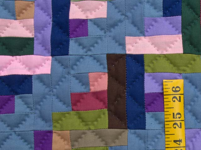 Indiana Amish Log Cabin Quilt Photo 4