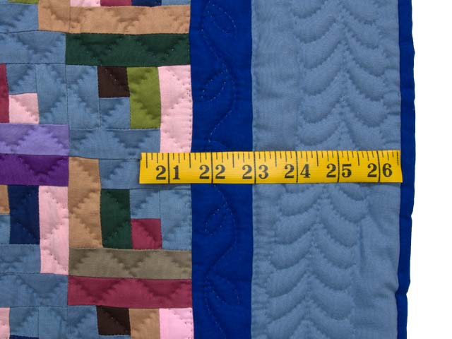 Indiana Amish Log Cabin Quilt Photo 5