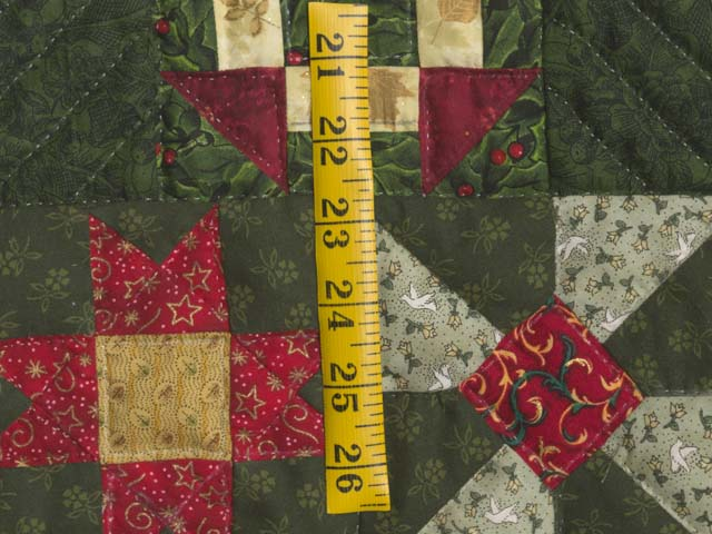 Patchwork Sampler Christmas Tree Wall Hanging Photo 4