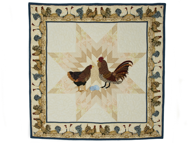 Chicken Scratch and the Lone Star Combination - Blue trim Photo 1