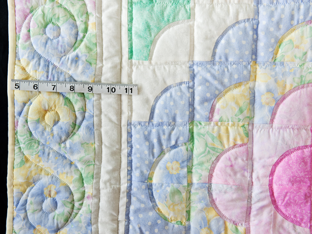 Ocean Wave Pastels Crib Quilt Photo 3