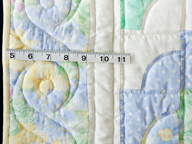 Ocean Wave Pastels Crib Quilt Photo 4