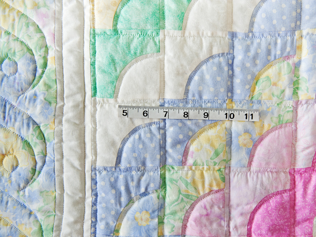 Ocean Wave Pastels Crib Quilt Photo 5