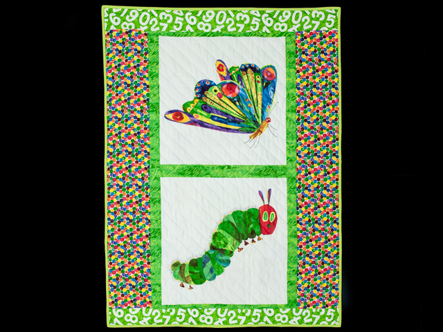 The Very Hungry Caterpillar REVERSIBLE including the little Book Photo 1