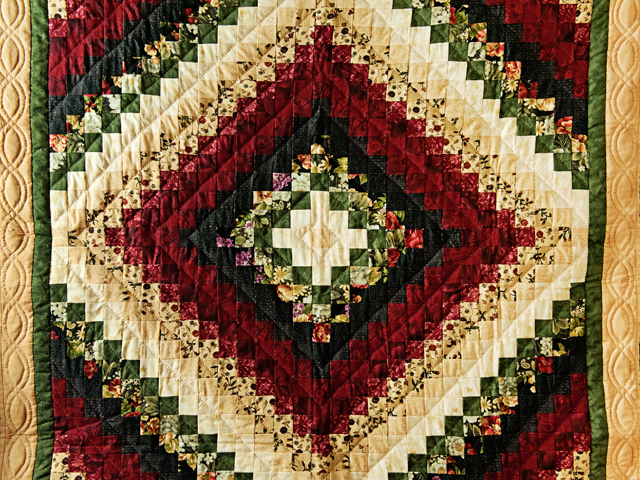 Black, Burgundy, Green and Tan Trip Around The World Wall Hanging Photo 2