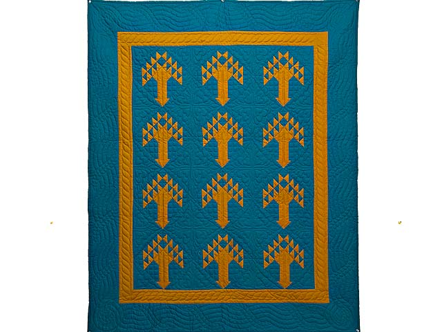 Indiana Amish Tree of Life Wall Hanging Photo 1