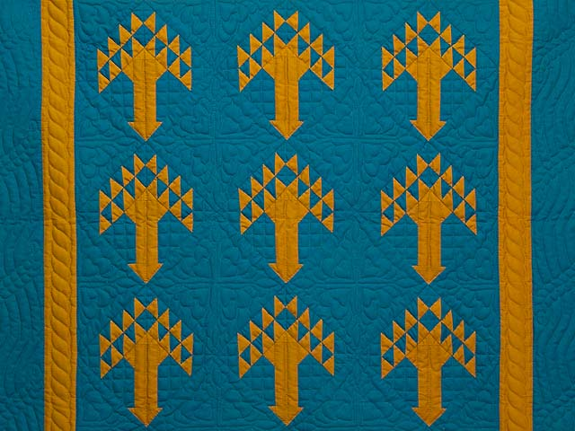 Indiana Amish Tree of Life Wall Hanging Photo 2