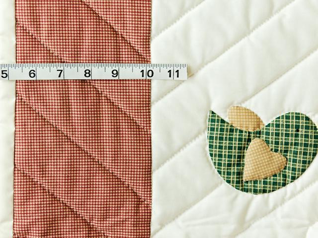 Red Plaid, Multi & Cream Dutch Girl Crib Quilt Photo 5