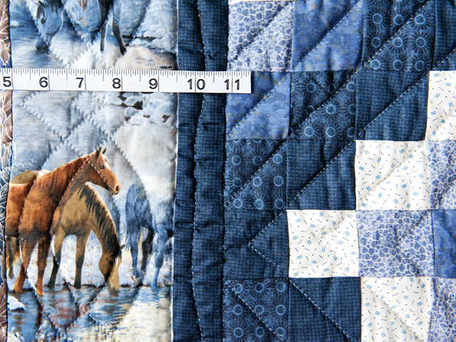 Beautiful Horses Trip Around The World Quilt Photo 3