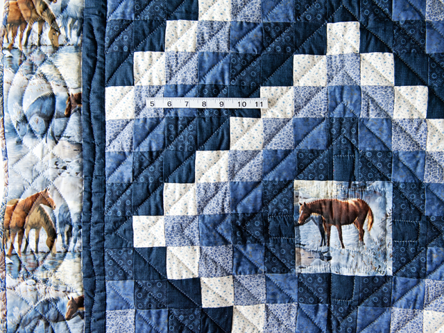 Beautiful Horses Trip Around The World Quilt Photo 5