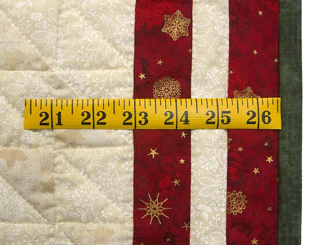 Dazzling Patchwork Christmas Tree Wall Hanging Photo 6