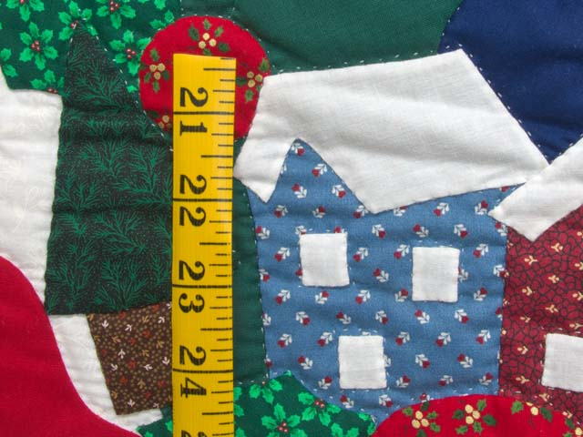 Silent Night Applique Wall Hanging Photo 4