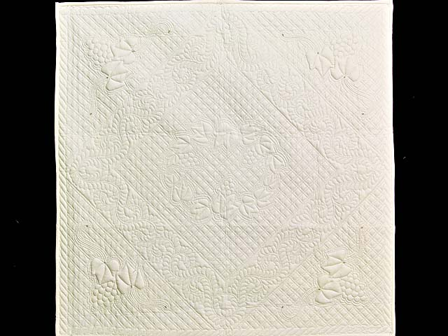 All Quilted Trapunto Grapes Divine Quilt Photo 1