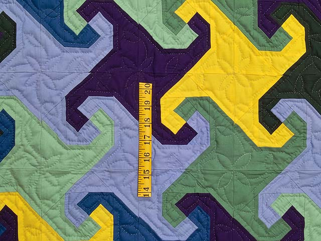 Indiana Amish Puzzle Pieces Quilt Photo 3