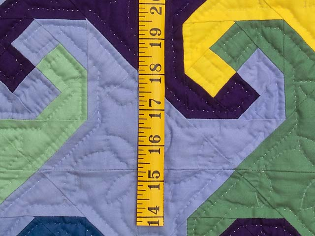 Indiana Amish Puzzle Pieces Quilt Photo 4