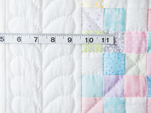 Soft Pastels and White Irish Chain Quilt Photo 3