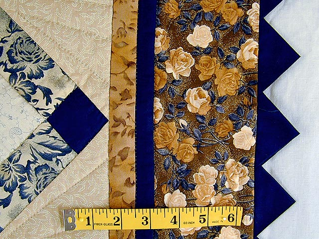 Navy and Brown Star Bloom Wall Hanging Photo 5