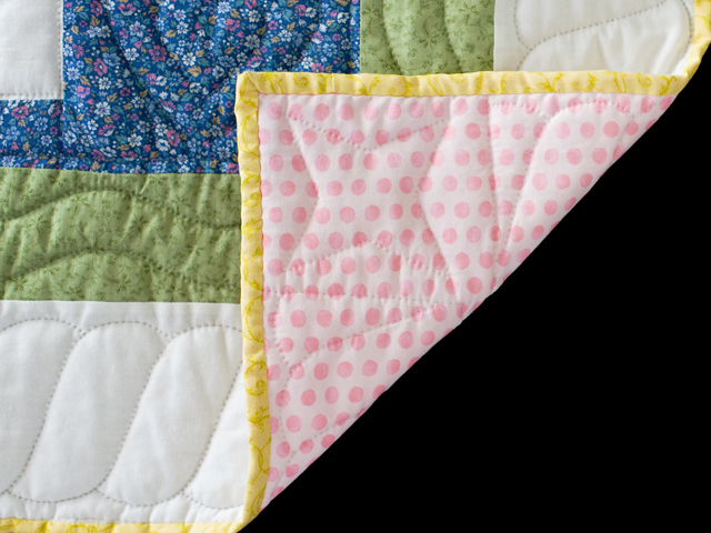 Floppy Eared Bunnies Crib Quilt Photo 5